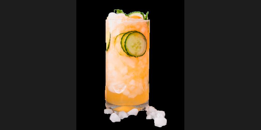 Melon cucumber ice tea